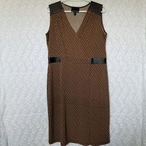 💎 CYNTHIA ROWLEY | mock wrap dress
